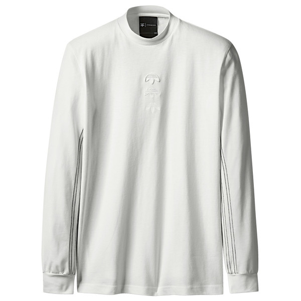Logo Alexander Wang Adidas White Ls Core Originals door wtE4q4I