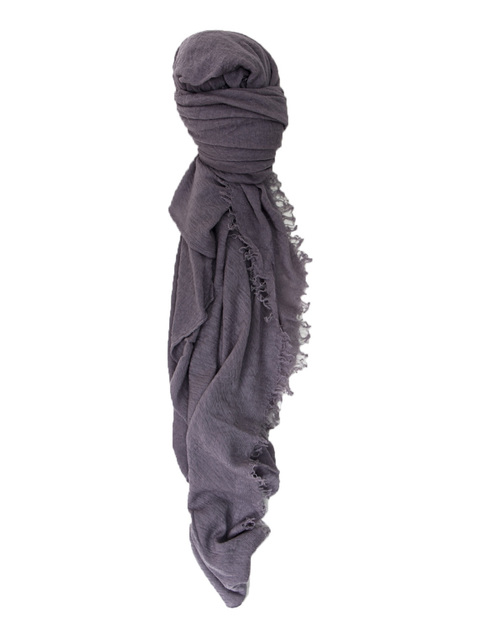 Grisal Isola Cashmere + Silk Scarf in Taupe Grey
