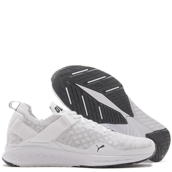 buy popular bae39 352c4 PUMA IGNITE EVOKNIT LOW - WHITE
