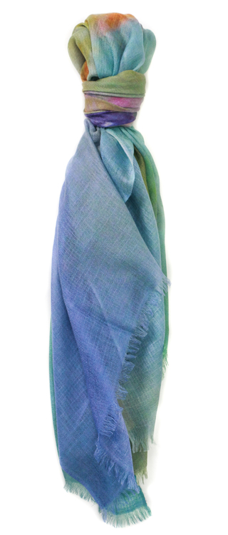 Manoosh Bright Sun 100% Cashmere Scarf