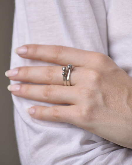 Mizisham Better Together (pair of rings)
