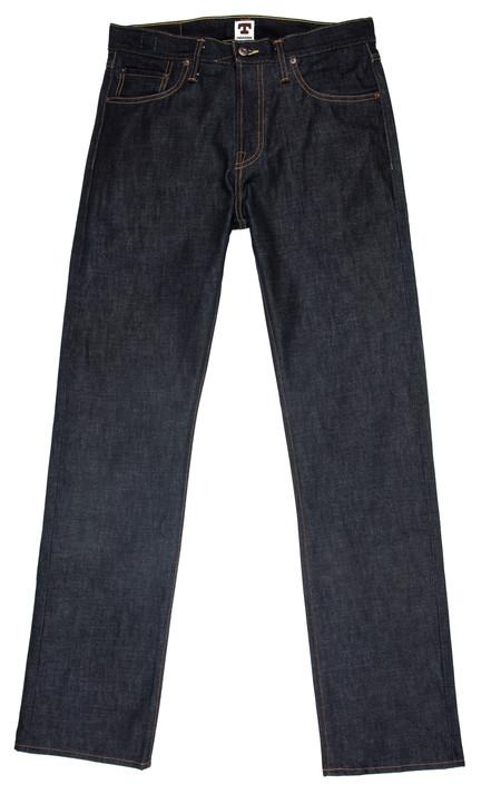 Tellason Ankara Straight Leg Cone Mills Jeans