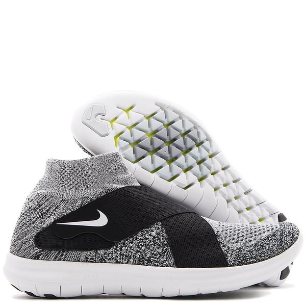 Nike Free Run Motion Flyknit 2017 Black White Garmentory