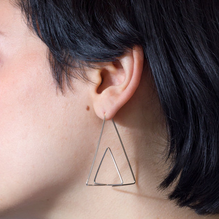 Kari Woo Pyramid Earrings