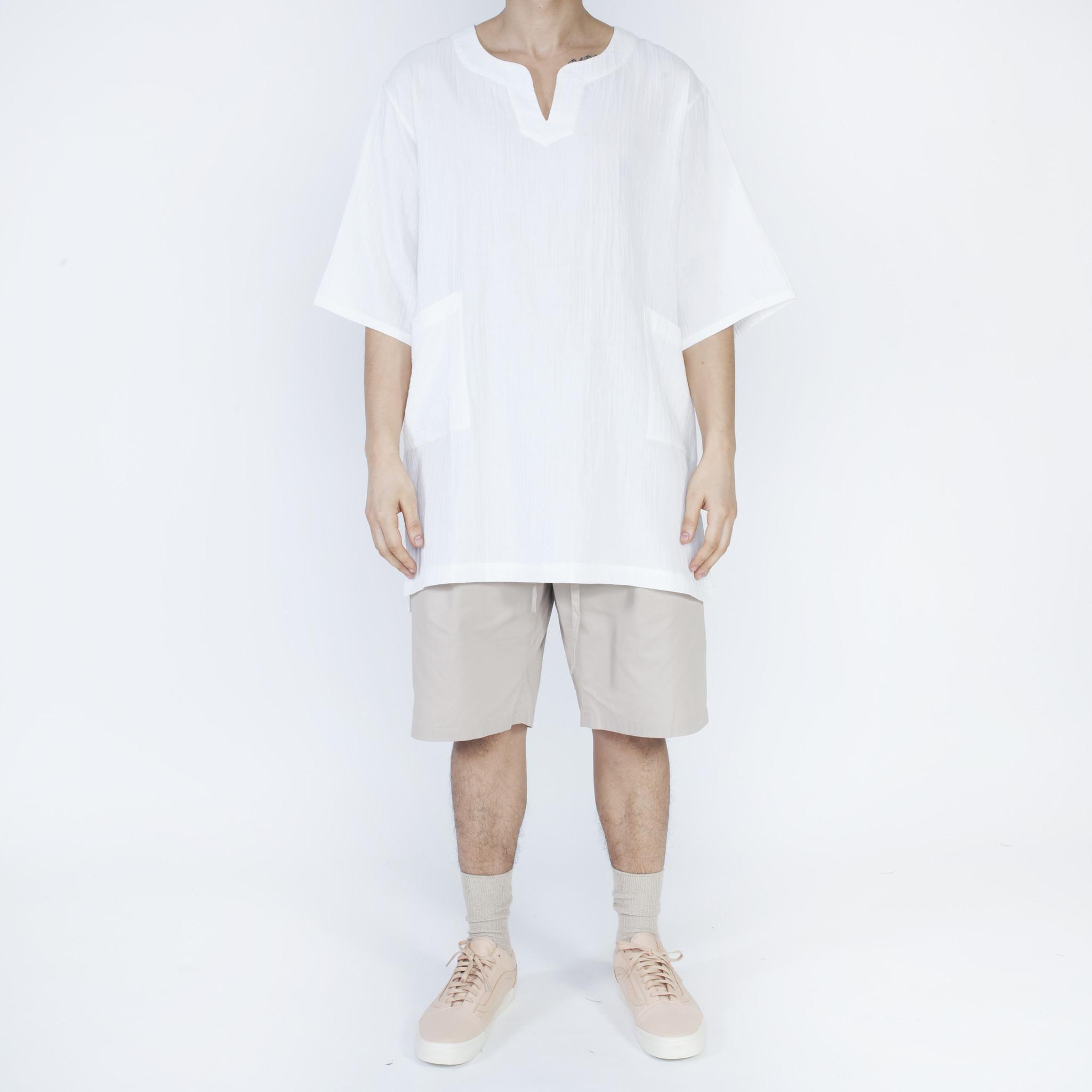 S K s k manor hill oba shirt white organic cotton garmentory