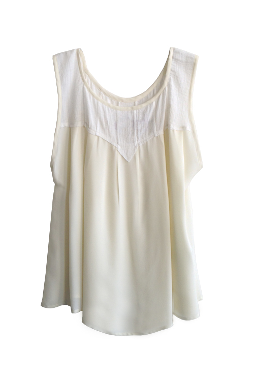 Heidi Merrick Sello Top (Cream)