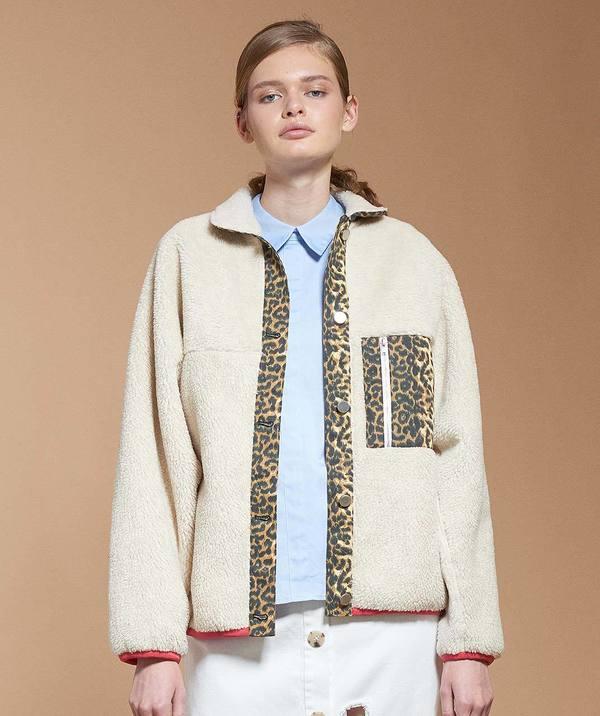 171cf285ceb7 Checkers Fleece Jacket   Garmentory