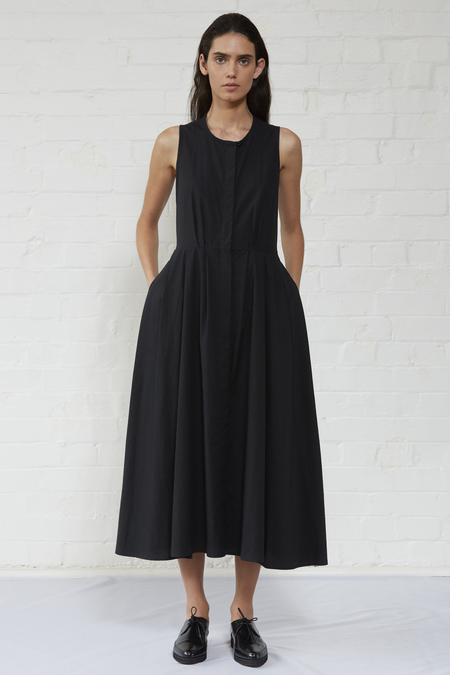 Shaina Mote Edo Dress - ink black