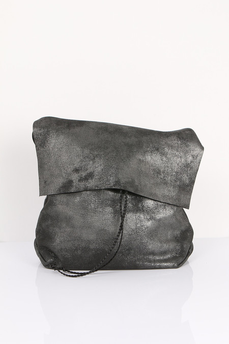 Stitch and Tickle Medium Bolsa - Distressed black