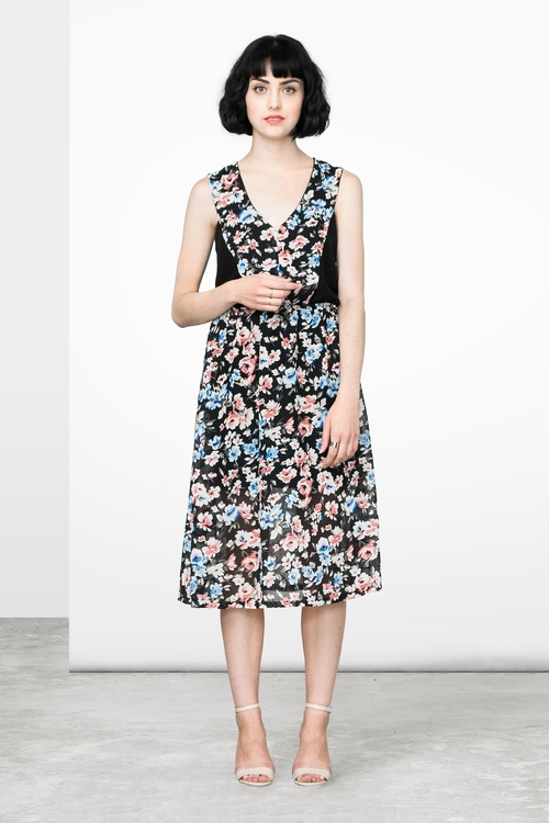 Marigold Kim Floral Dress