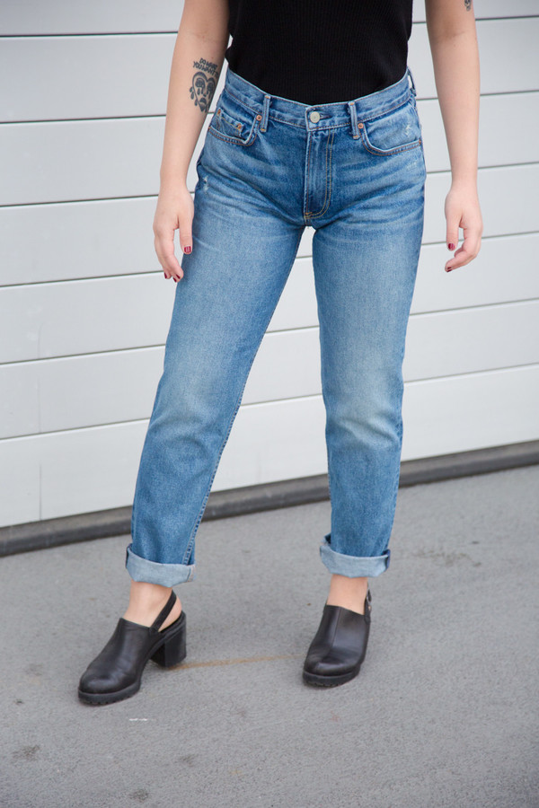 Jane straight jeans - Blue GRLFRND myPwxpkAhL