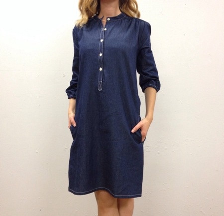 The Podolls Chambray Market Dress