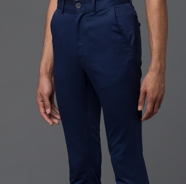 KRAMMER & STOUDT - Brighton Trouser - Blue