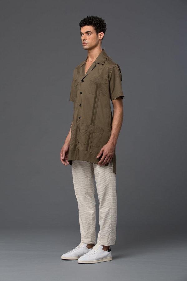 CARLOS CAMPOS - Jackabera Shirt Jacket - Tobacco Leaf