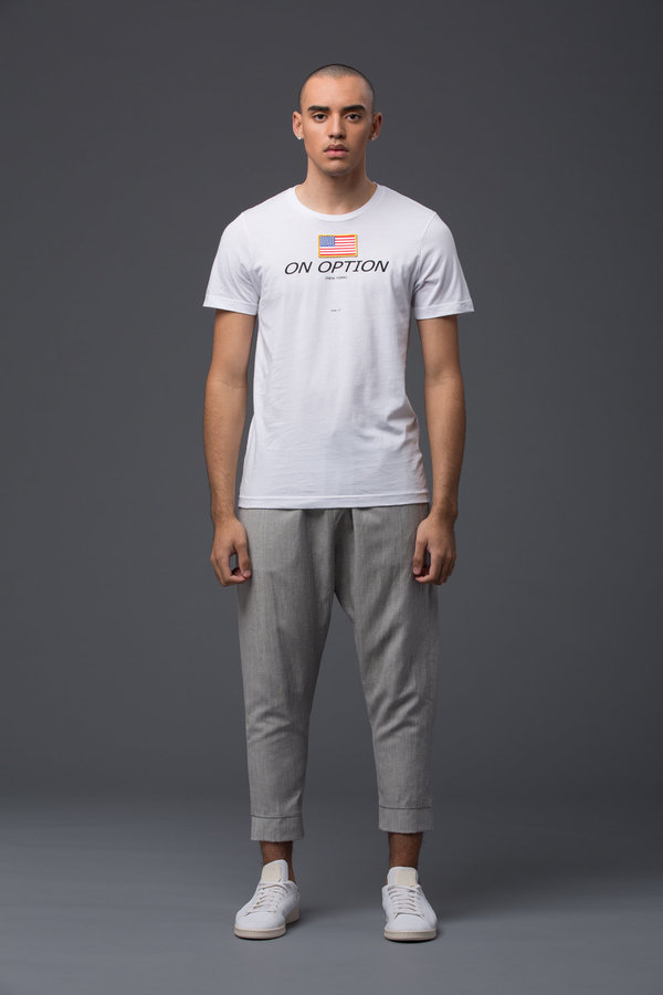 PALMIERS DU MAL - PdM White Tee - America On Option