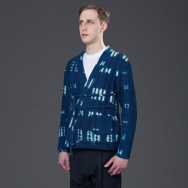 PALMIERS DU MAL - African Mud Cloth Double Tie Noragi - Indigo
