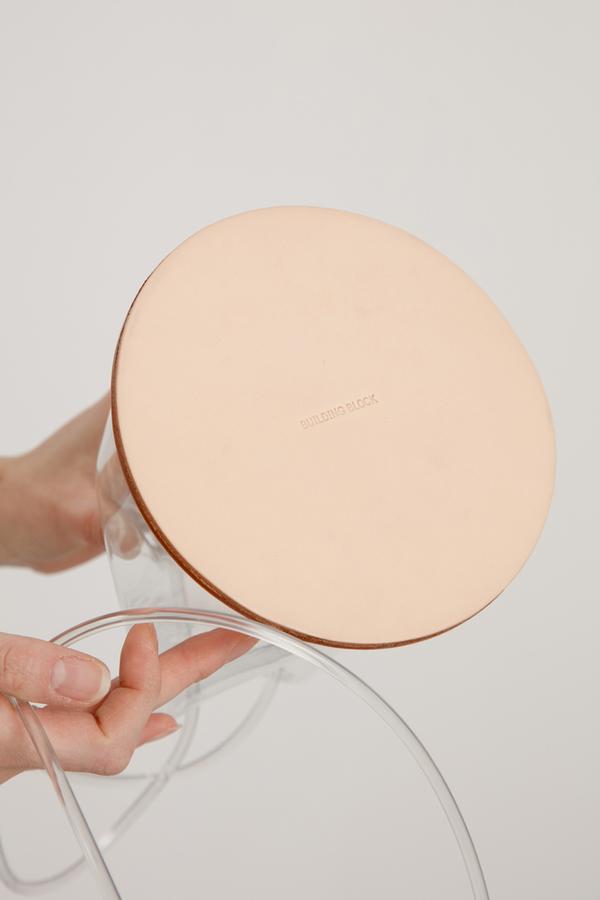 Building Block Disc - Clear