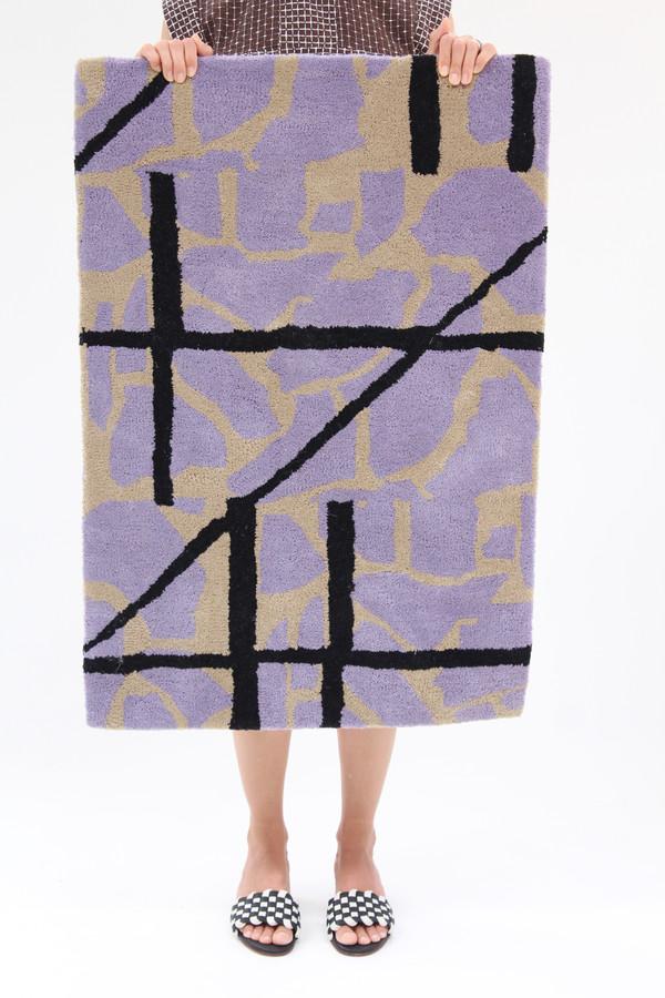 Beklina Collage Rug Lilac