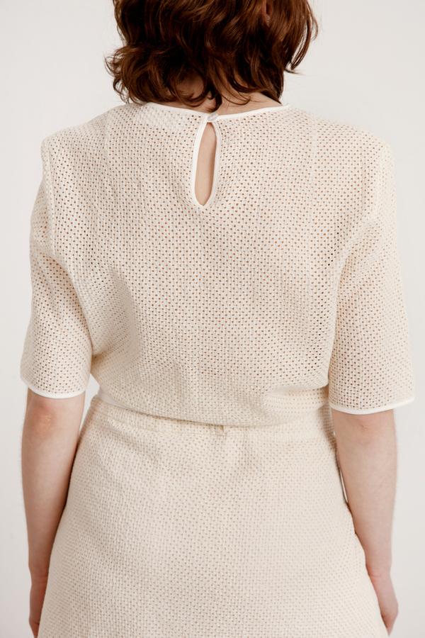 Reality Studio Arran Dress - Off White