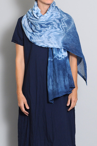 Conifer + Mineral Workshop Scarf