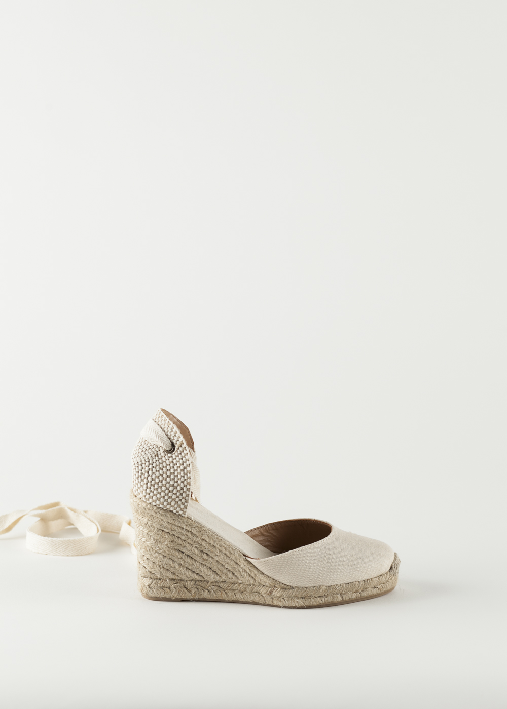soludos wedge linen shoe blush garmentory