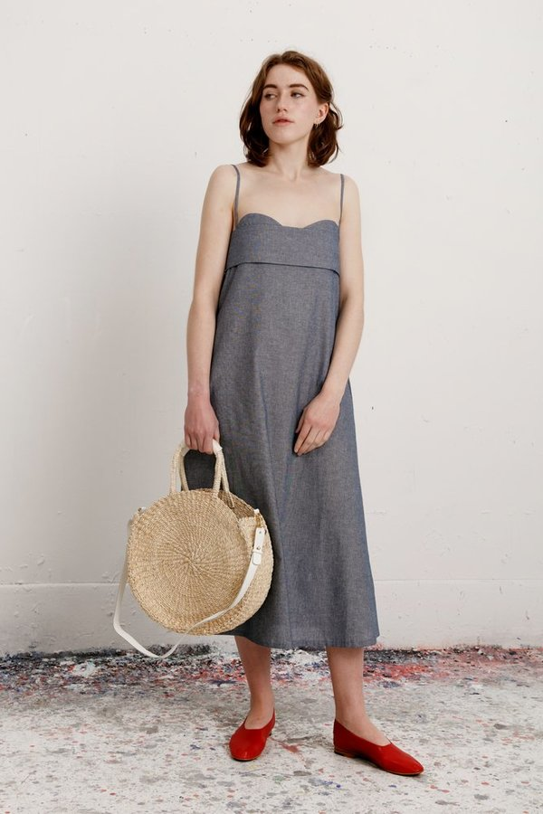 Toit Volant Verona Dress - Indigo  b284fe99ac6