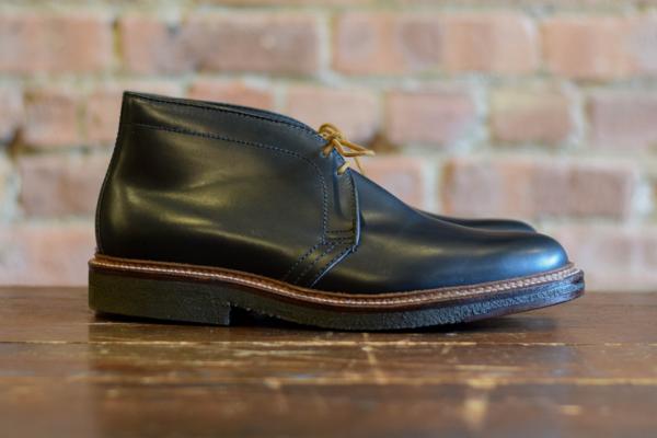 Alden Shoes 1247 Chukka Boot Black Leather Garmentory