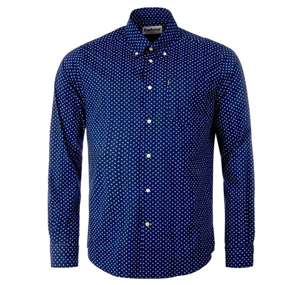 Barbour Curtis Shirt Navy