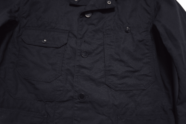 ENGINEERED GARMENTS DK NAVY NYCO RIPSTOP COVERALL JACKET