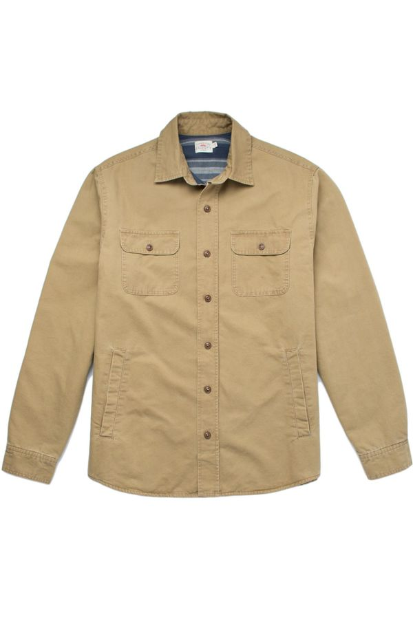 Faherty Brand BLANKET LINED CPO JACKET