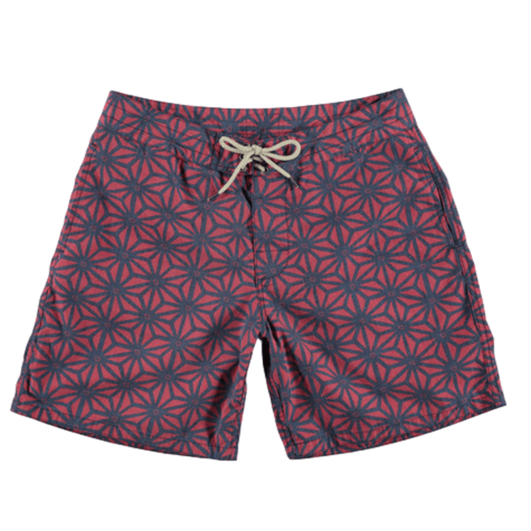 Faherty Brand Classic Boardshort - Starfruit Red