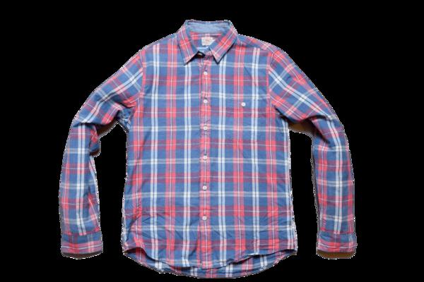 Faherty Brand Seaview Shirt Red/Cream Plaid