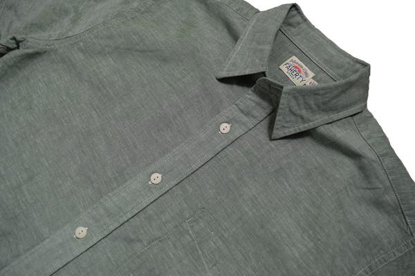 Faherty Brand Breezecloth Ventura Shirt Olive