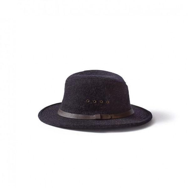 Filson Packer Hat: Filson Charcoal Wool Packer Hat