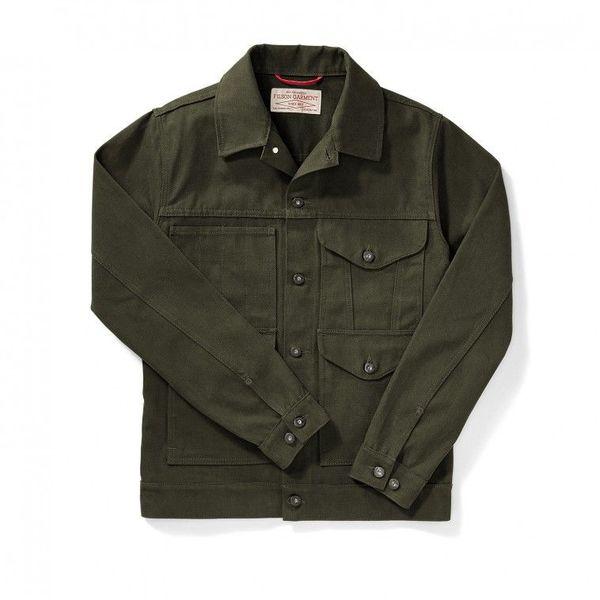 Filson Magnum Black Short Cruiser Jacket