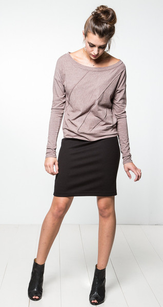 Una Bianca Pencil Skirt