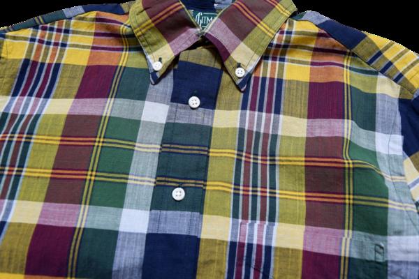 Gitman Vintage Archive Madras Check Shirt
