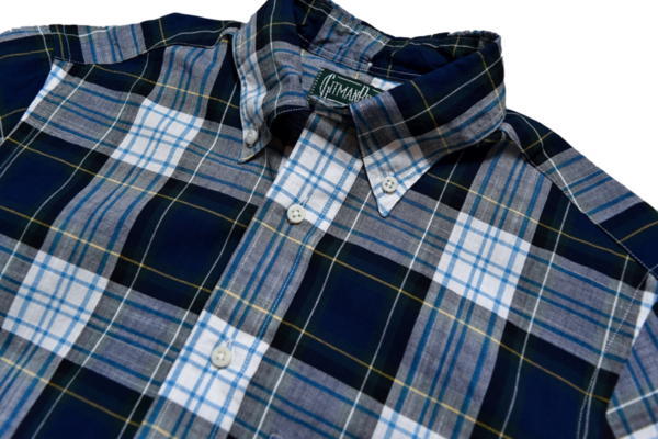 Gitman Vintage Daywatch Madras Check Shirt