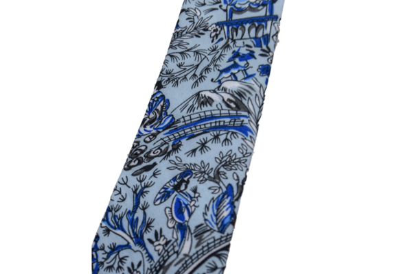 Gitman Vintage Xiangzi's Garden Blues Tie