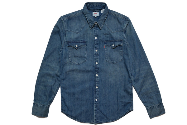 Levis Red Tab LEVIS SANDY TINT BARSTOW WESTERN SHIRT