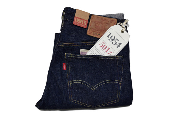 LEVIS VINTAGE CLOTHING RINSED 1954 501® JEANS
