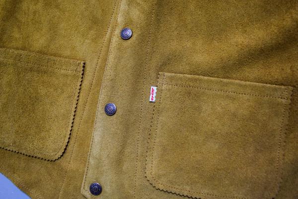 Levis Vintage Clothing Suede Vest