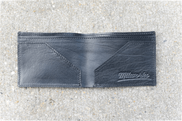 Milworks Black Leather Wallet
