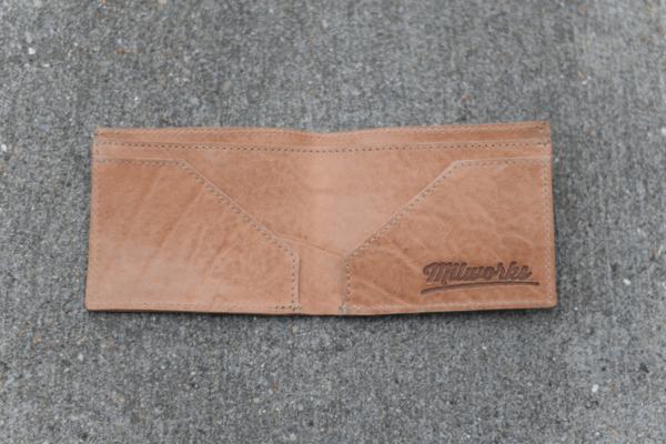 Milworks Natural Leather Wallet