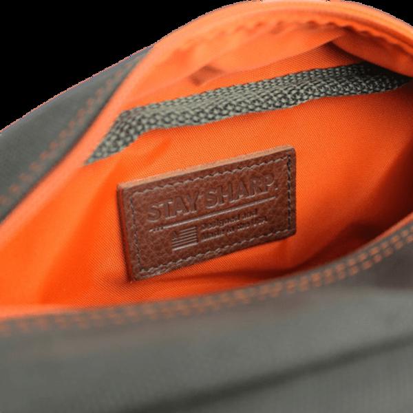 Owen & Fred Stay Sharp Shaving Kit Bag Army Green