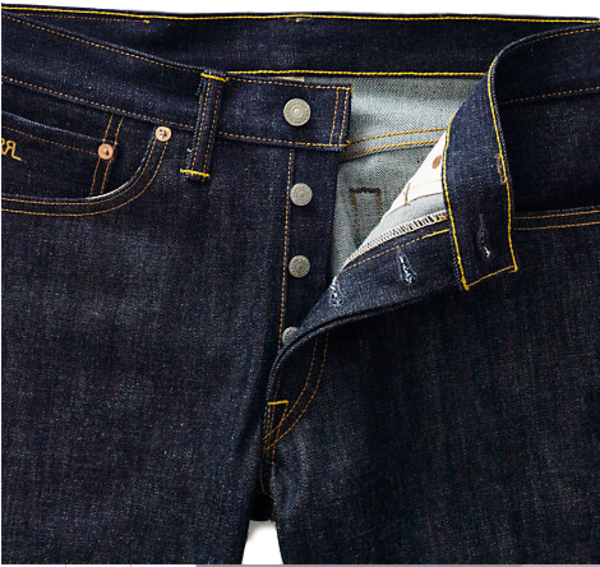 RRL Slim Narrow Rigid Jean