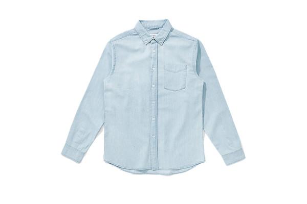 Saturdays NYC Saturdays Crosby Denim Shirt Washed Indigo