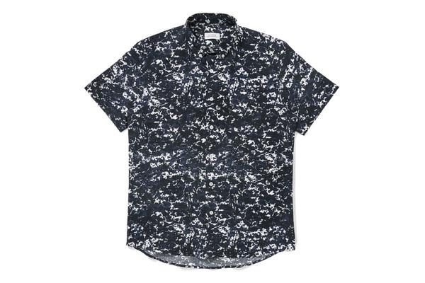 Saturdays NYC Saturdays Esquina Shirt Ash Print