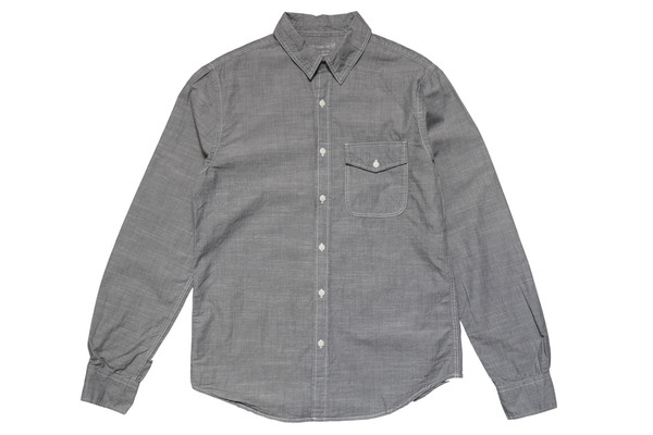 Save Khaki Chambray Work Shirt