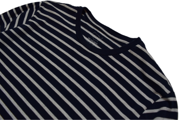 SAVE KHAKI NAVY MARINE STRIPE JERSEY